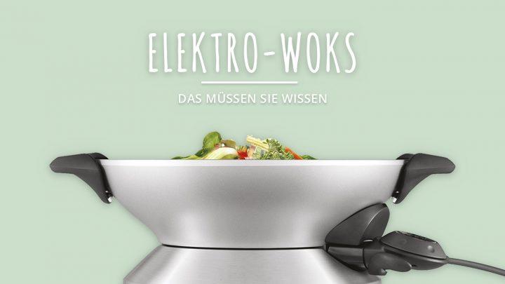 Elektro Wok kaufen