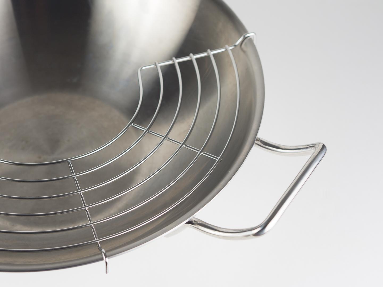 zwilling wok ablagegitter
